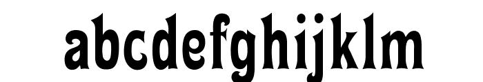 OPTIMiyako-Black Font LOWERCASE