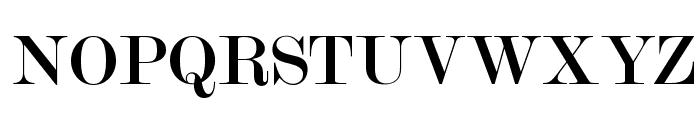 OPTIModern-Two Font UPPERCASE
