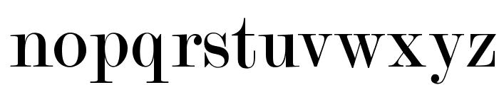 OPTIModern-Two Font LOWERCASE