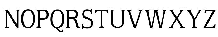 OPTIMoldyLightAd Font UPPERCASE