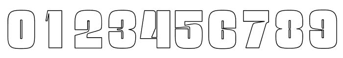 OPTINatty-BoldOutline Font OTHER CHARS