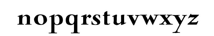 OPTINaval-Black Font LOWERCASE