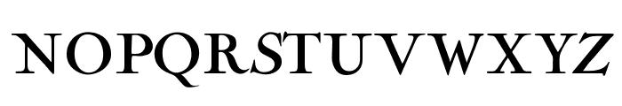 OPTINaval Font UPPERCASE