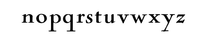 OPTINaval Font LOWERCASE