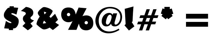 OPTINeuland-Black Font OTHER CHARS