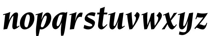 OPTINonoy-BoldItalic Font LOWERCASE