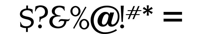 OPTINonoy-Medium Font OTHER CHARS