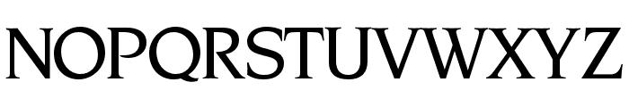 OPTINonoy-Medium Font UPPERCASE