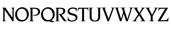 OPTINonoy-MediumItalic Font UPPERCASE