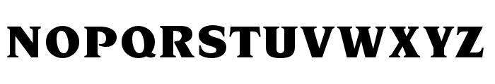 OPTINonoy-Ultra Font UPPERCASE