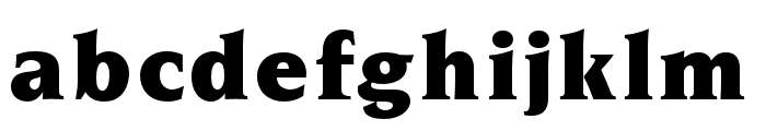 OPTINonoy-Ultra Font LOWERCASE