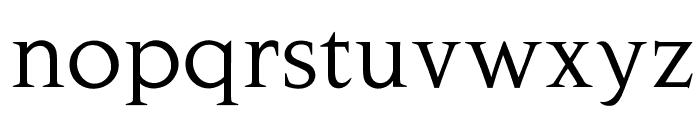 OPTINovaAugustea Font LOWERCASE