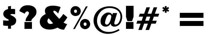 OPTINovelGothic-XBoldAgen Font OTHER CHARS