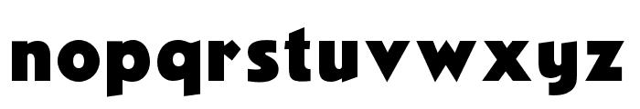 OPTINovelGothic-XBoldAgen Font LOWERCASE