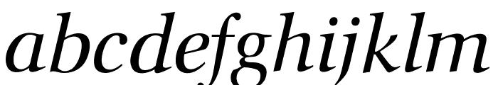 OPTIOcean-Italic Font LOWERCASE