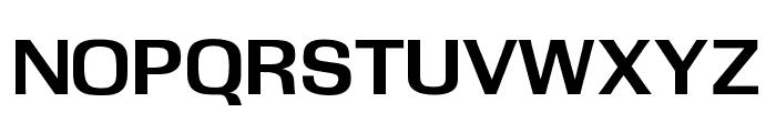 OPTIOgden-Bold Font UPPERCASE
