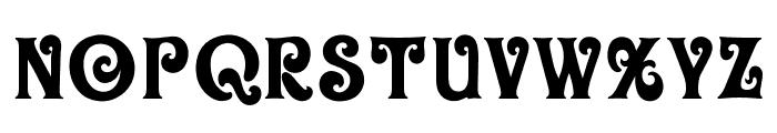 OPTIOliver-Display Font UPPERCASE