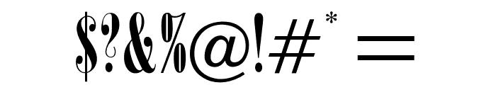 OPTIOnyx Font OTHER CHARS