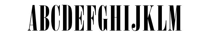 OPTIOnyx Font UPPERCASE