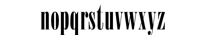 OPTIOnyx Font LOWERCASE