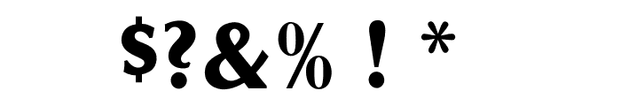 OPTIOptionSemiBold Font OTHER CHARS