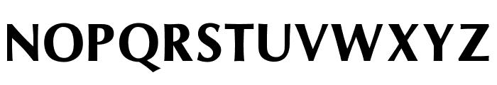 OPTIOptionSemiBold Font UPPERCASE