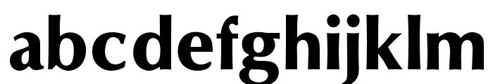 OPTIOptionSemiBold Font LOWERCASE