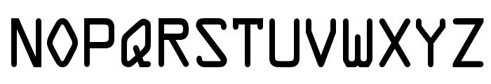 OPTIOpus Font LOWERCASE
