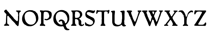 OPTIPackardBold-C Font UPPERCASE