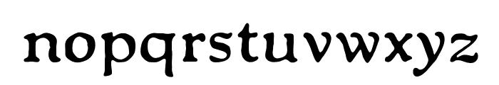 OPTIPackardBold-C Font LOWERCASE