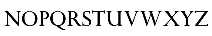 OPTIPapong Font UPPERCASE
