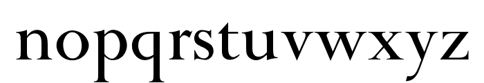 OPTIPapong Font LOWERCASE