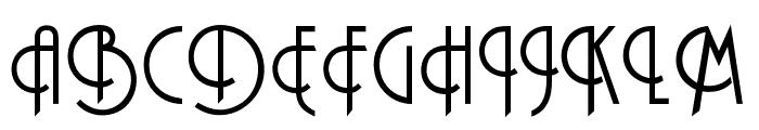 OPTIPashey Font UPPERCASE