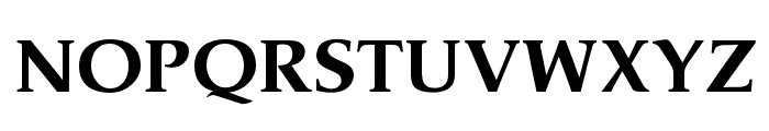 OPTIPathway-ExtraBold Font UPPERCASE