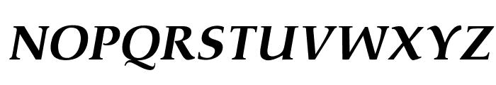 OPTIPathway-ExtraBoldIta Font UPPERCASE