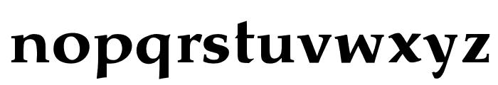 OPTIPathway-ExtraBold Font LOWERCASE