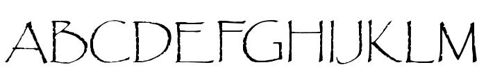 OPTIPaulDavid Font UPPERCASE