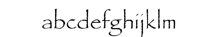 OPTIPaulDavid Font LOWERCASE