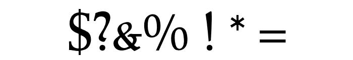 OPTIPeach-CAP Font OTHER CHARS