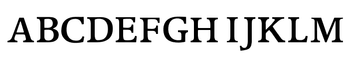 OPTIPeach-CAP Font LOWERCASE