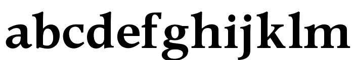 OPTIPeach-DemiGras Font LOWERCASE