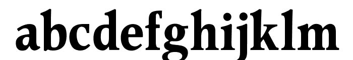 OPTIPeach-EtDemiGrasCond Font LOWERCASE