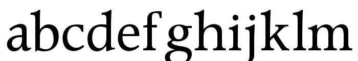 OPTIPeach Font LOWERCASE