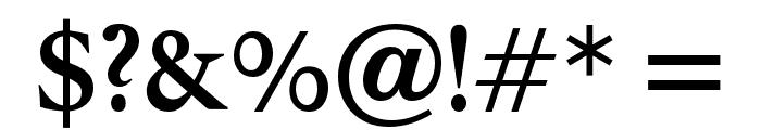 OPTIPegasus-Bold Font OTHER CHARS