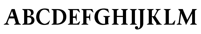 OPTIPegasus-Bold Font UPPERCASE
