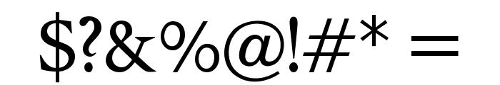 OPTIPegasus Font OTHER CHARS
