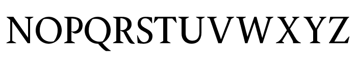 OPTIPegasus Font UPPERCASE