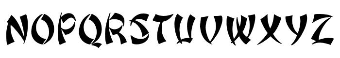 OPTIPeking Font UPPERCASE