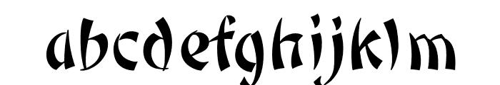 OPTIPeking Font LOWERCASE