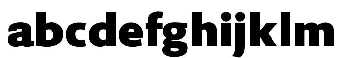 OPTIPhillip-Bold Font LOWERCASE